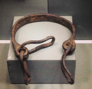 slave colar from viking age Dublin